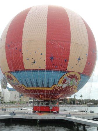 Disney Springs: Hot air ballon