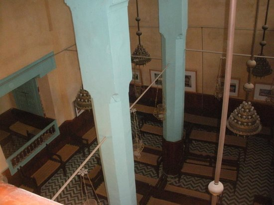 Aben Danan Synagogue : Inside the synagogue