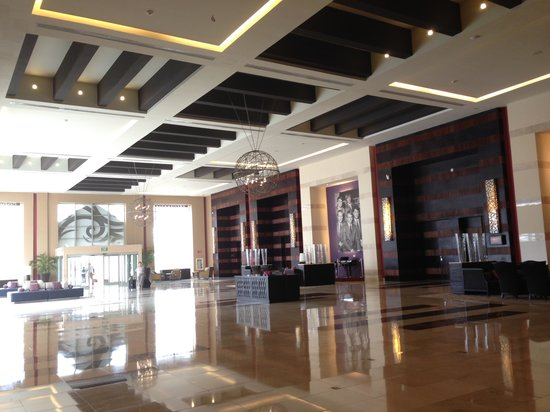 Hard Rock Hotel & Casino Punta Cana: one of the lobbies (there are two)