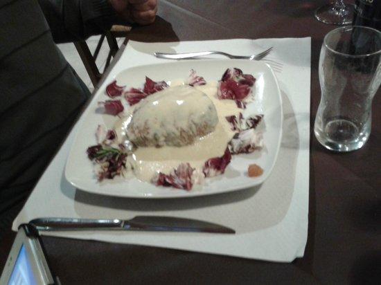 Osteria del Proconsolo: Filé com molho gorgonzola. Molho bem suave. Delicioso!