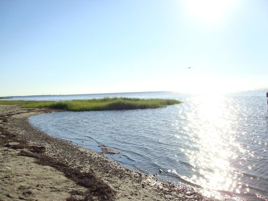 Frisco Woods Campground: Pamlico Sound view