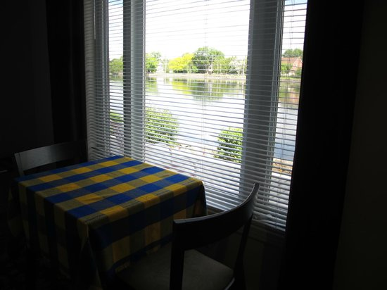 The Water's Edge Inn : View from the room.