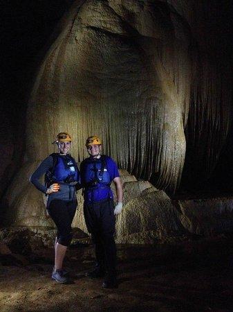 Aventuras Tierra Adentro, Inc. : Inside the cave!