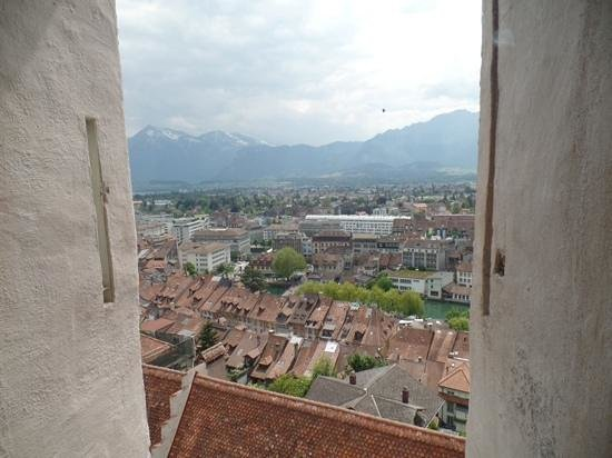 Schloss THUN: view from the tower