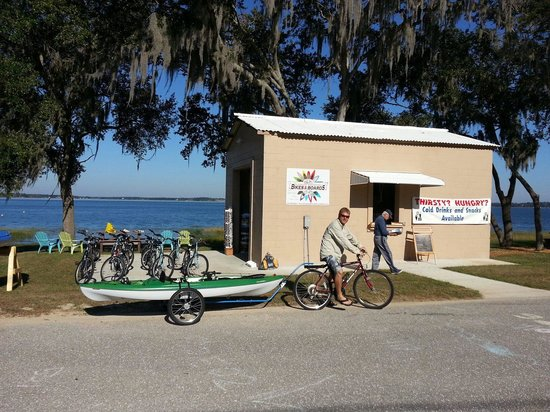 Clermont Waterfront Bikes And Boards