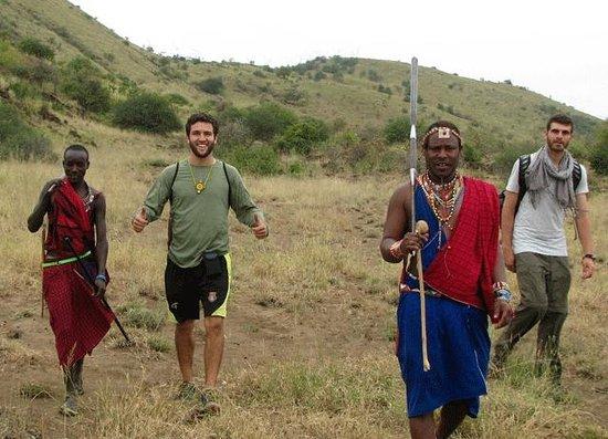 Maasai Simba Camp : Walking safari with warriors