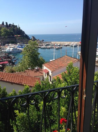 Tutav Adalya Hotel: Вид из ресторана