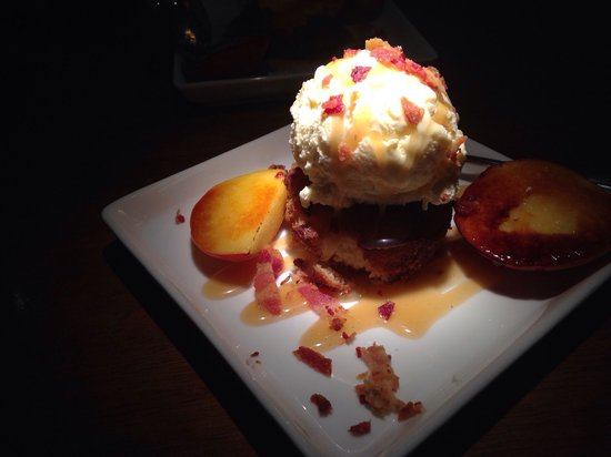 Mahogany Grille: Carmelized Peach