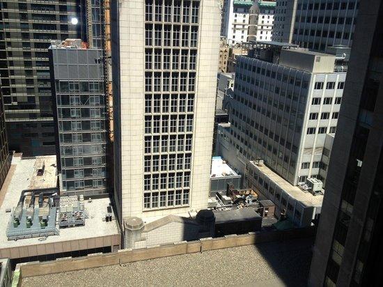 Club Quarters Hotel, opposite Rockefeller Center: Room view