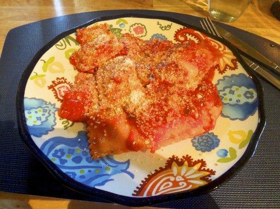 Paciarino: Ravioli- delicious!