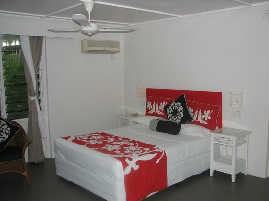 Manuia Beach Resort : Air Conditioned Suite