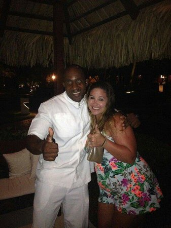 Paradisus Punta Cana Resort: The best butler Steve!!! We love you Steve! You made our stay so amazing! We will be back!! :)