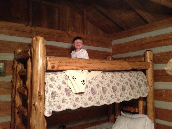 Silver Dollar City's Wilderness: Top bunk fun