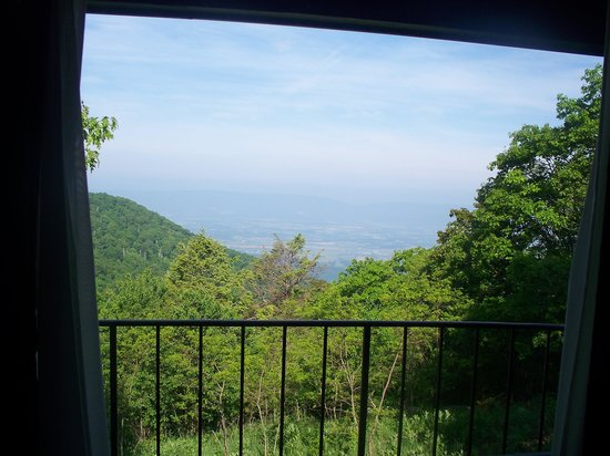 Skyland: View looking out of our room