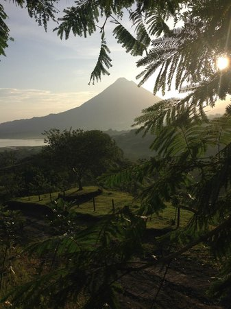 Essence Arenal Boutique Hostel : Sunrise - you dont want to sleep in