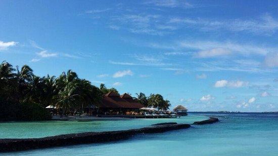 Kurumba Maldives: Entrance jetty