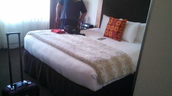 Hotel Modera: bed