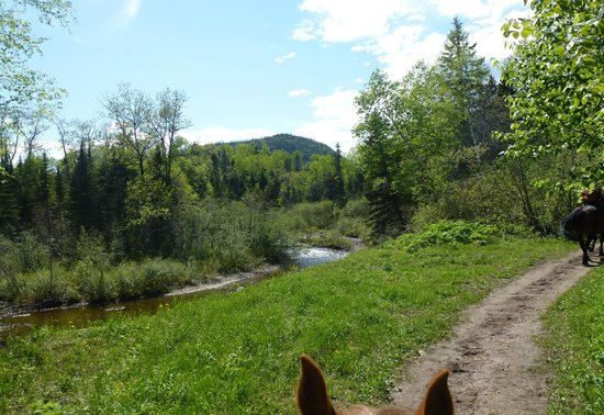 Baie Sainte-Catherine, Canada : A part of the trail
