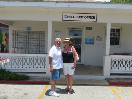 Hell: Place to mail a postcard