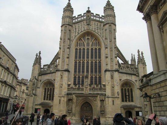 The Roman Baths: Bath Cathedral