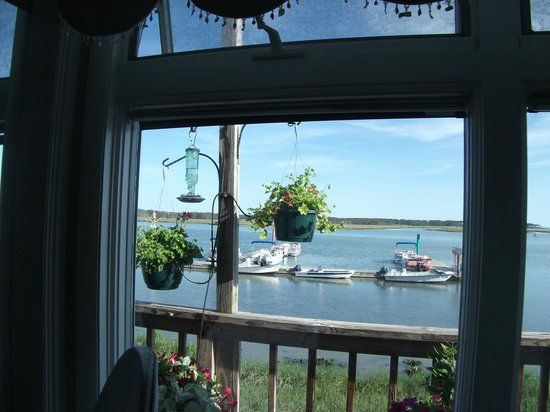 Etta's Channel Side Restaurant : View from the dining room.