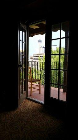 Omni La Mansion del Rio: View from our room