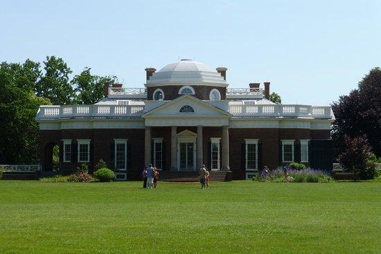 Monticello, residencia de Thomas Jefferson: Front view