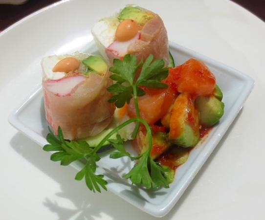 Ginger Garden: Nice appetizer from the sushi chef