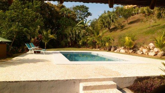 Rancho Capulin Bed&Breakfast : Piscina