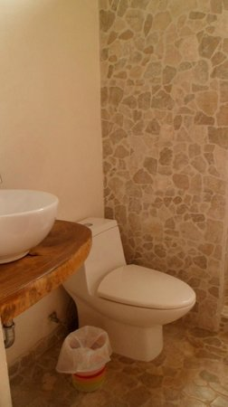 Rancho Capulin Bed&Breakfast : Baño