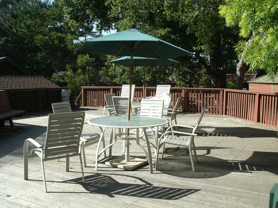 Rosedale Inn: Open Deck