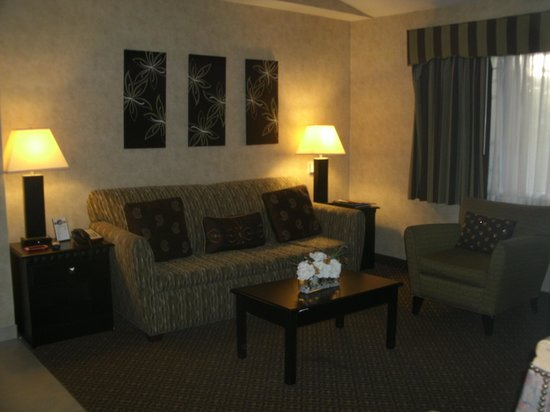 Rosedale Inn: Suite Living Room