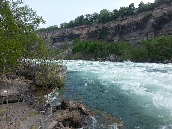 White Water Walk : Looking Downstream