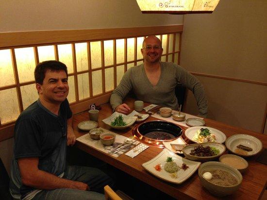 CenterMark Hotel : Restaurante Coreano  Gyoungbokkund  do hotel