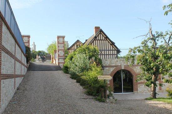 Le Clos des Fontaines : The reception