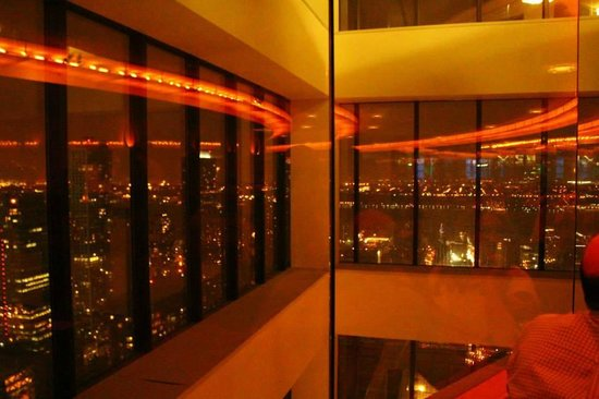 The View Restaurant & Lounge: never ending revolve! you won't feel it though...