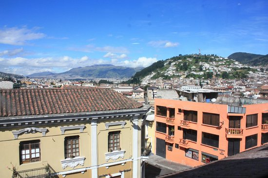 La Casa Tolena Hostal: View from enclosed roofdeck
