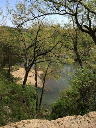 Casa de Loco Winery: creek