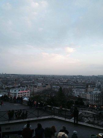 Basilique du Sacré-Cœur de Montmartre : A view