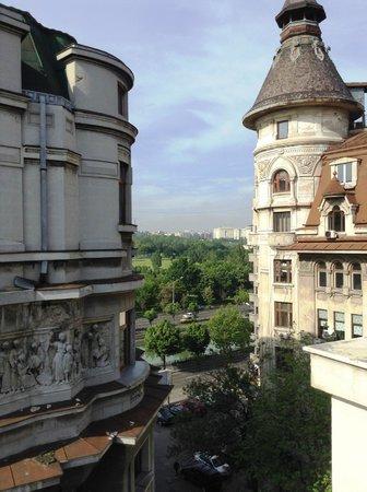 Volo Hotel: vue de la chambre