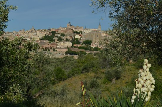 Cigarral El Bosque: View of Toledo