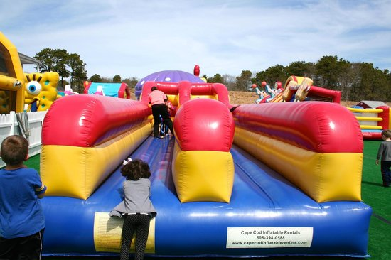 Rides at the Cape Cod Inflatable Park