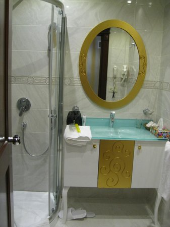 The Magnaura Palace: Clean bathroom