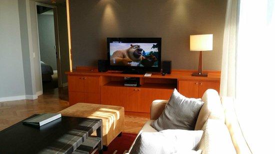 Chatrium Residence Sathon Bangkok: Living room