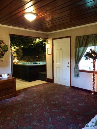 Bennett Bay Inn: Hawaiian Room - View from the bed