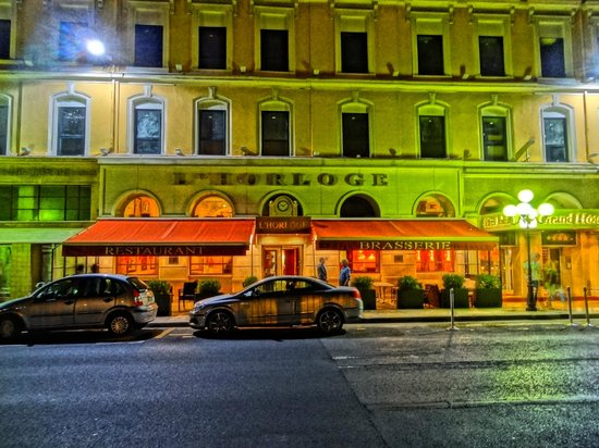 Hotel Aston La Scala : Outside Restaurant