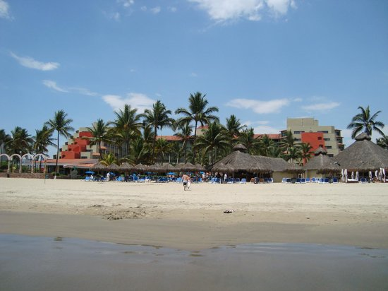 Occidental Nuevo Vallarta: View from beach