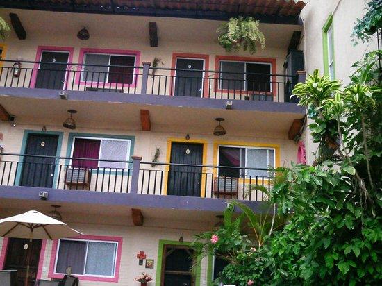 Hotel Yazmin: Inside Hotel view