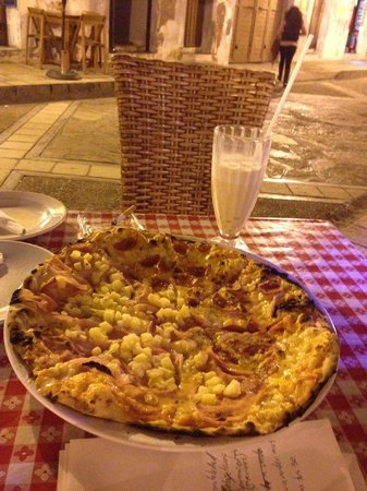 Pizzeria El Punto: pizza