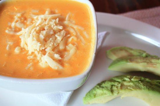 Achiote Ecuador - Cuisine: Locro de papas (potato soup) - very rich